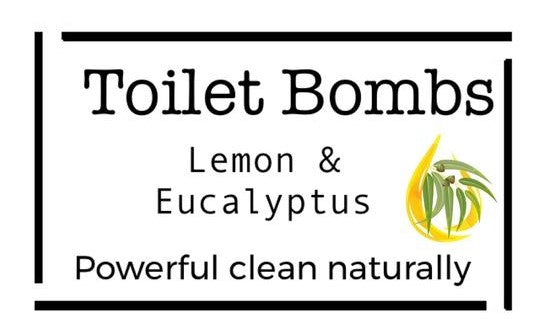 Toilet Bombs - Lemon & Eucalyptus