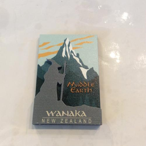 3D magnet Middle Earth Regional Wanaka