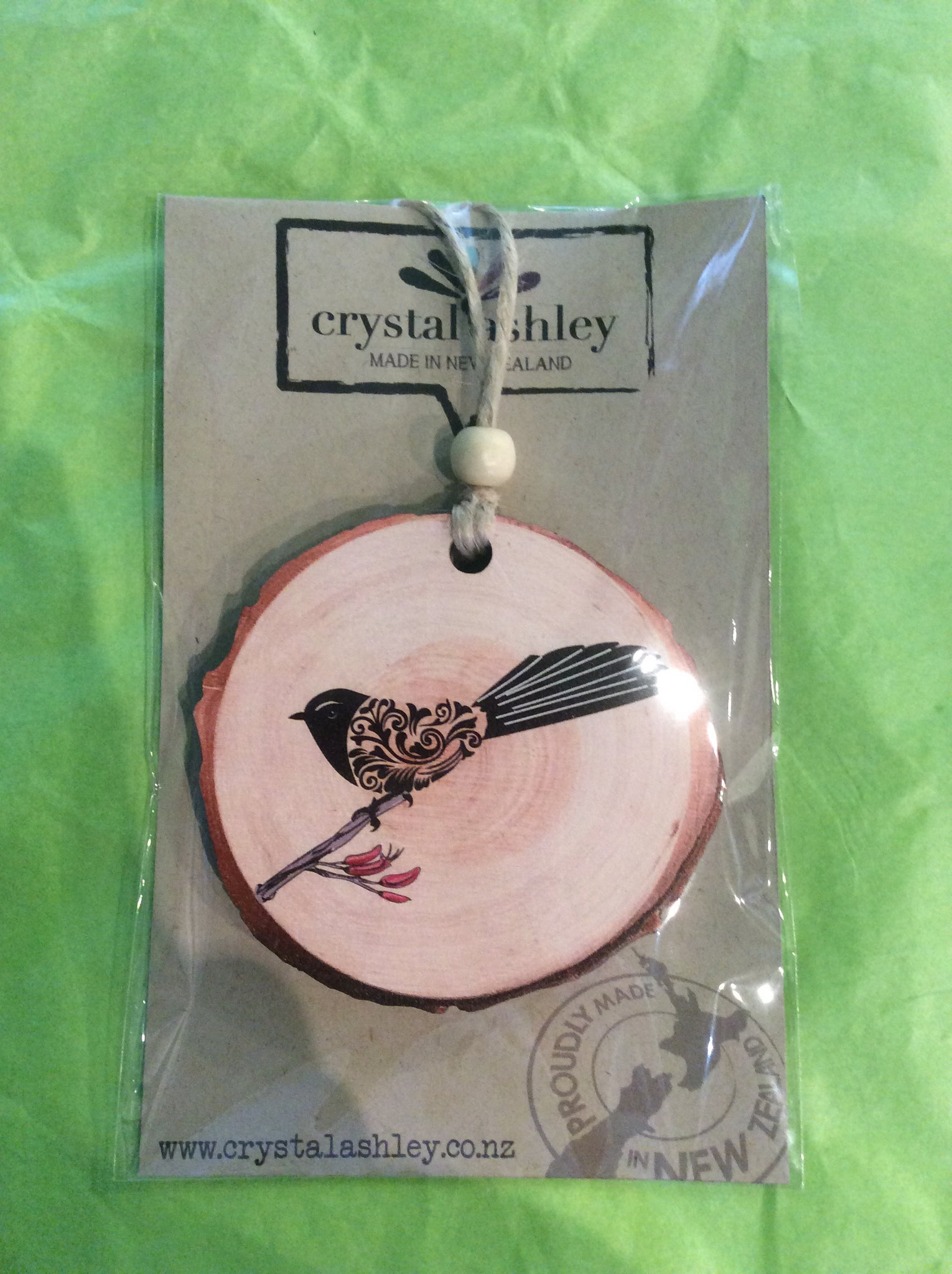 Fantail Hanging Ornament Small