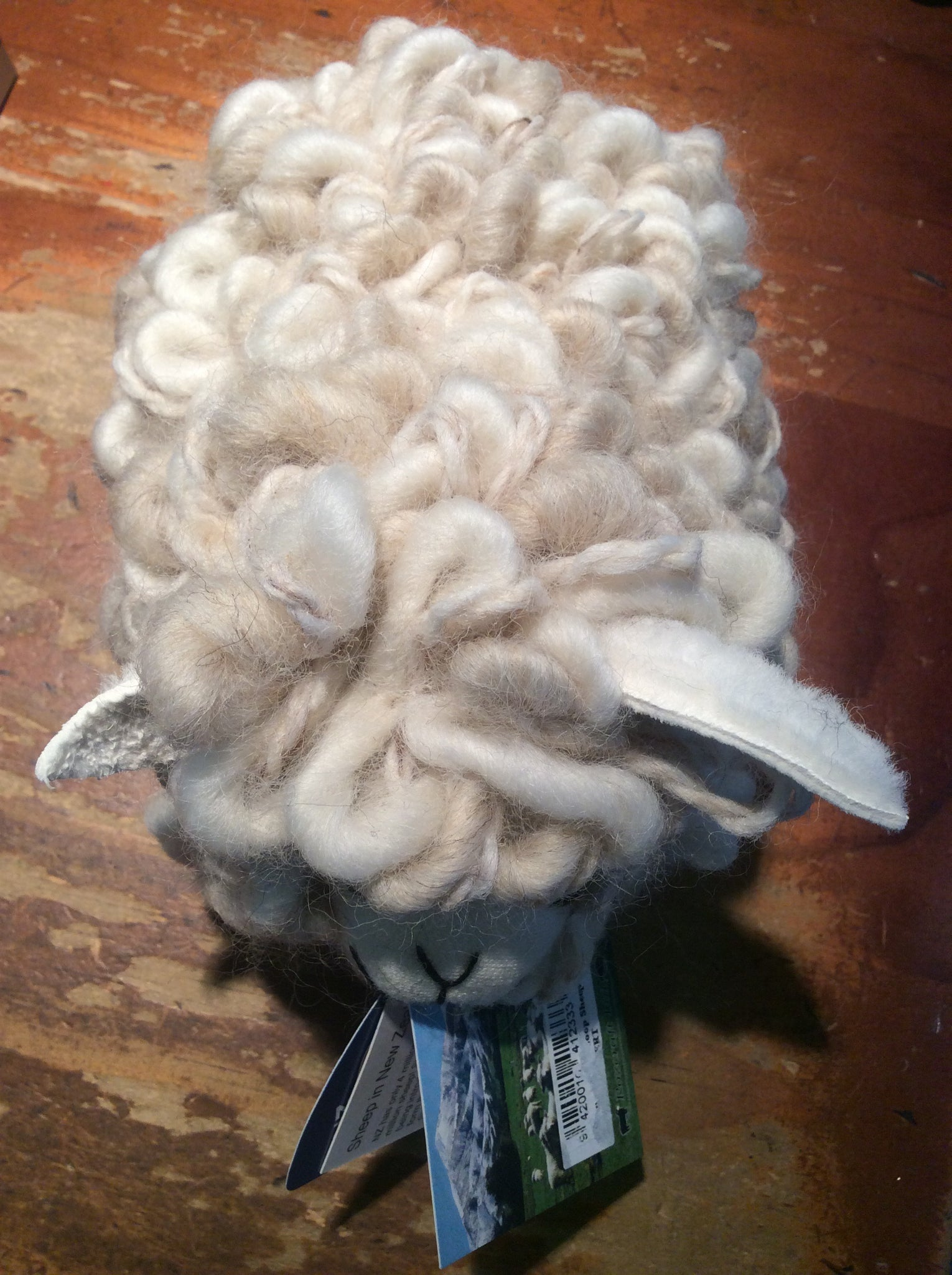 Textured Wool Loop Sheep with Baa - WOOLBERT