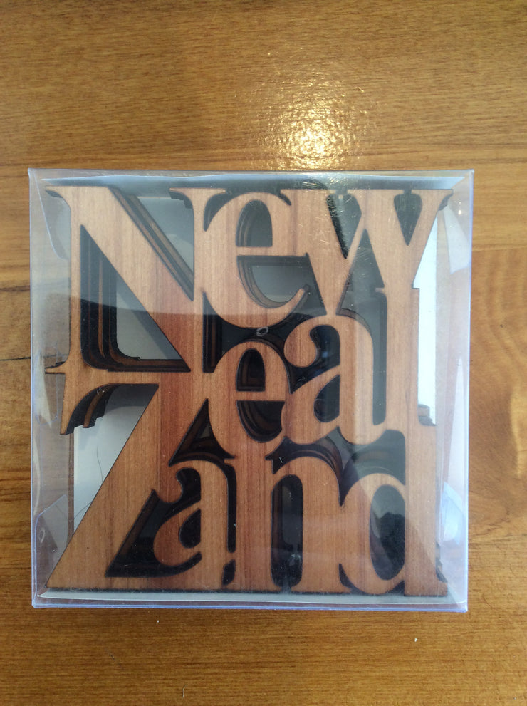Amazing Wood Coaster - New Zealand