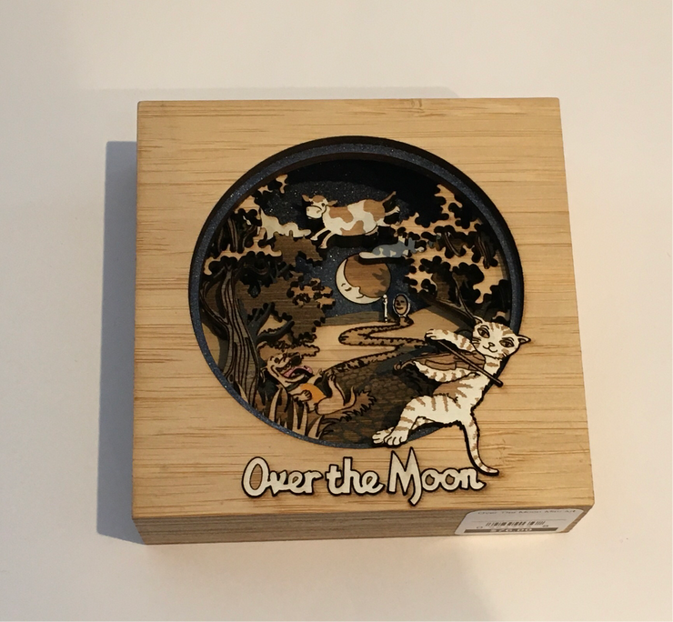 Over The Moon Mini Art