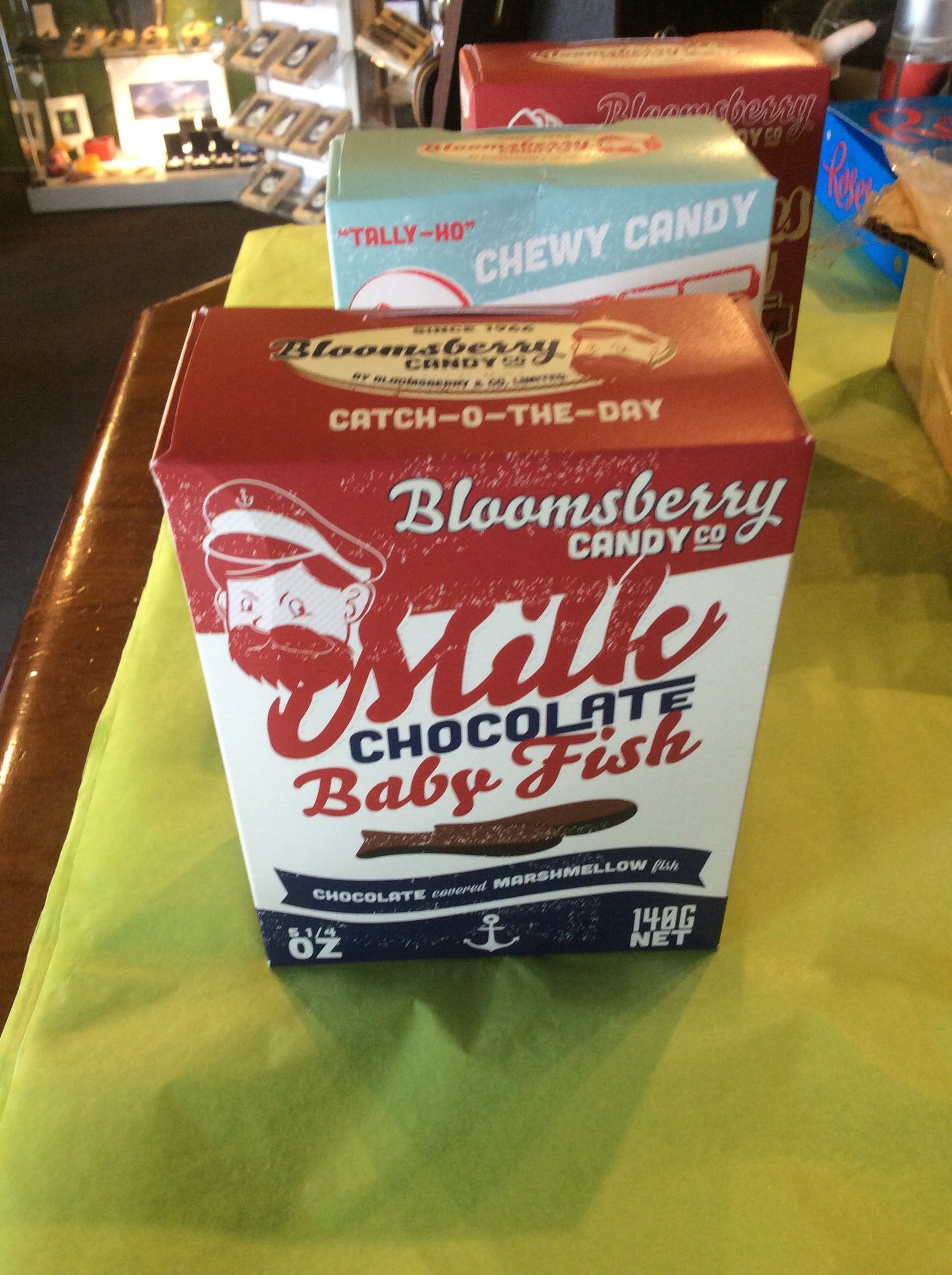 Chocolate Fish - Bloomsberry Candy Co.