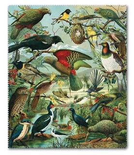 New Zealand Native Birds Lens Cloth