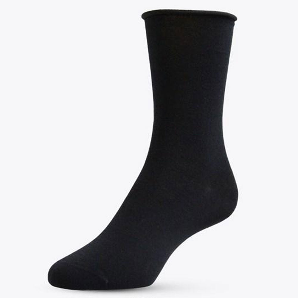 Black Merino Dress Sock