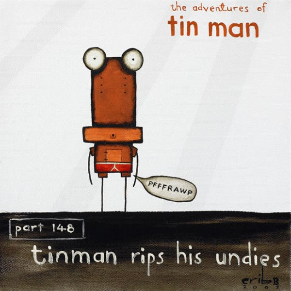 Tin Man Rips His Undies VP039