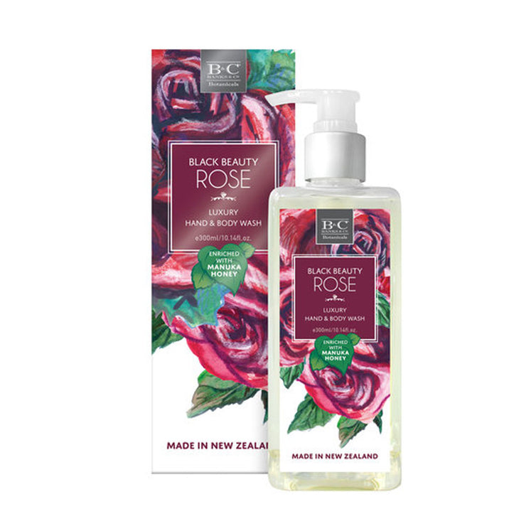 Black beauty rose Hand and body Wash