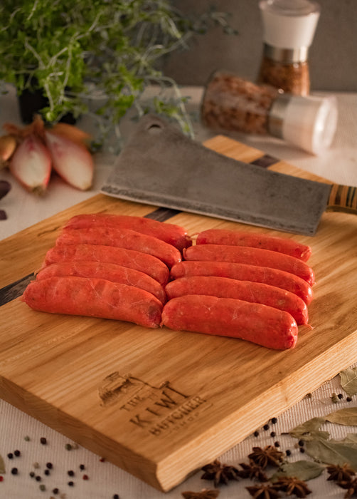 $12 Value Pack - Venison, Cracked Pepper & Worcestershire Sausages