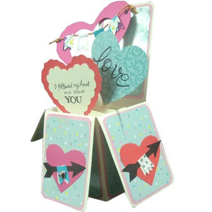 Handmade Valentine Day 3D Greeting Cards