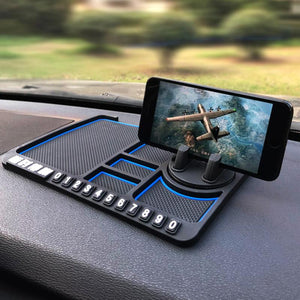 Multi-functional Silicone Car Anti-skid Pad Mobile Phone Bracket