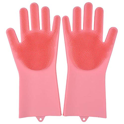Silicone Scrubbing Cleaning Glove