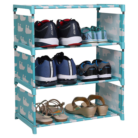 Multi-Purpose Foldable Storage Shoe Rack
