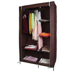 Multi-Purpose DIY Wardrobe Closet Storage Clothes Rack