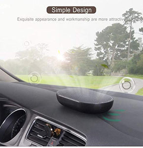 Car/Home Air Purifier Auto Air Freshener Negative Ion Generator Cleaner Three-Layer Purification Low Noise