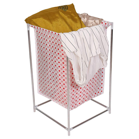 Organizer Laundry Storage Basket For Dirty Clothes (Red)