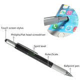 6-in-1 Multi-Function Tool Pen
