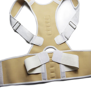 Adjustable Magnetic Posture Corrector Corset Back Brace Back Belt