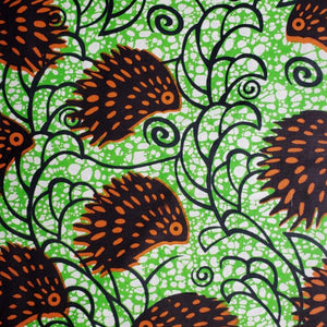 Full Feather Ankara Fabric