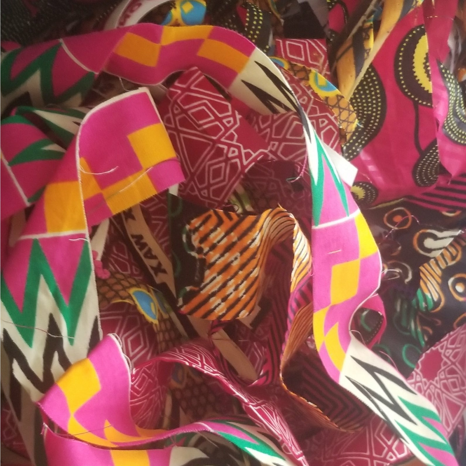 Bag of Shreds Ankara Fabric