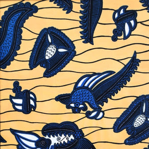 This is a Sign Ankara Fabric