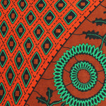 Its a Rust Scene Ankara Fabric