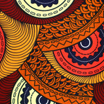 Fifty Shades of Orange Ankara Fabric