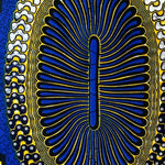 Egypt Circle Ankara Fabric