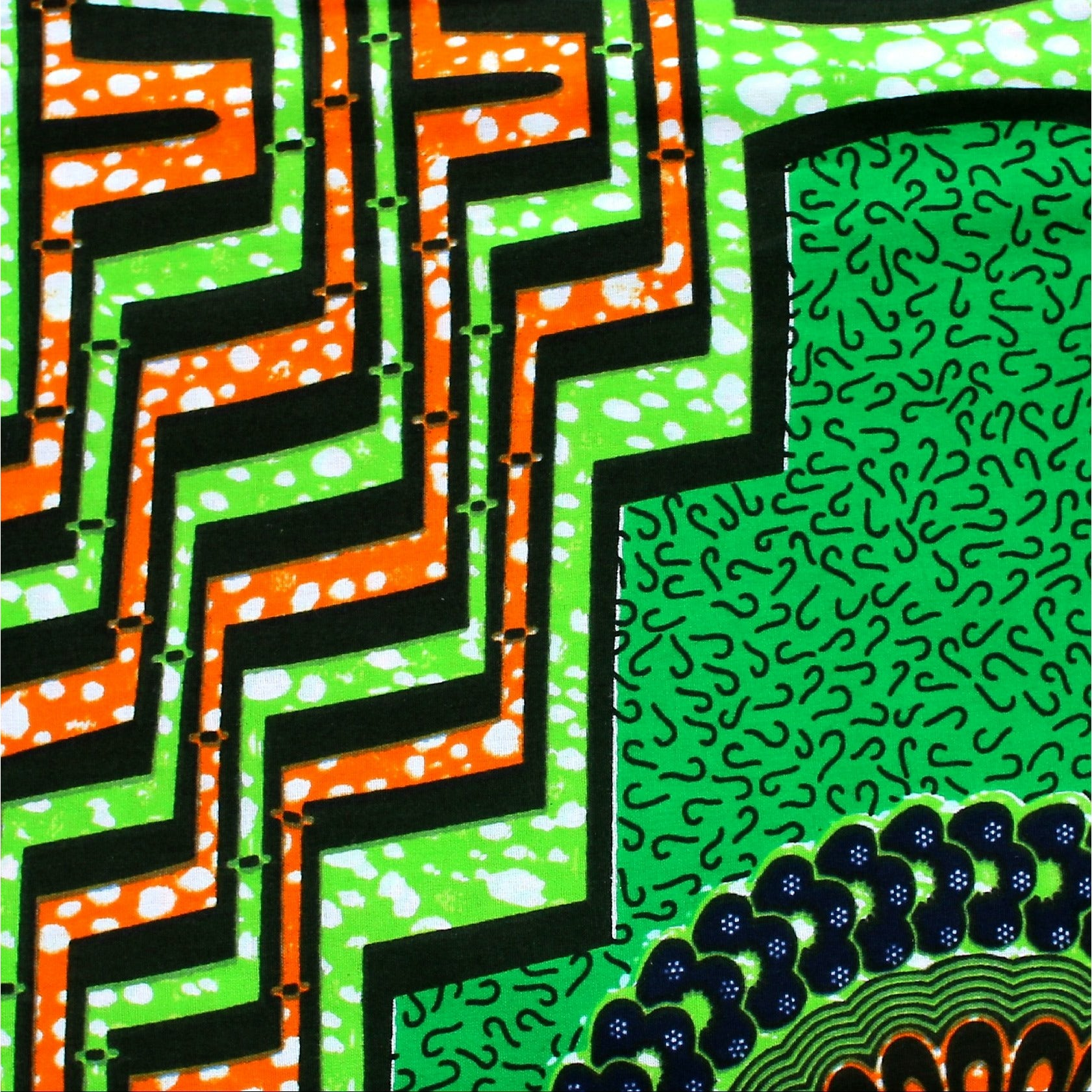 Bye Green Summer Ankara Fabric