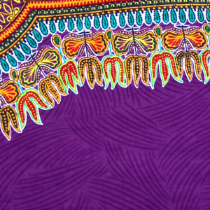 Purple Angelina Dashiki Fabric