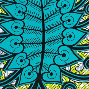 Wonderland Ankara Fabric