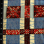 Decorative Squares Ankara Fabric