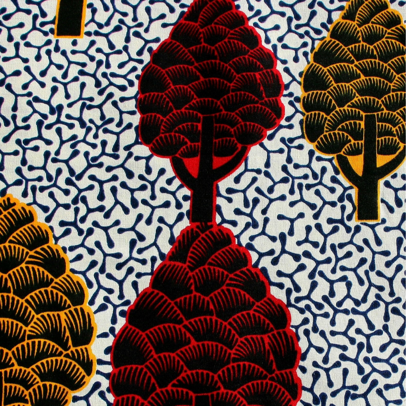 It's Like a Tree Ankara Fabric