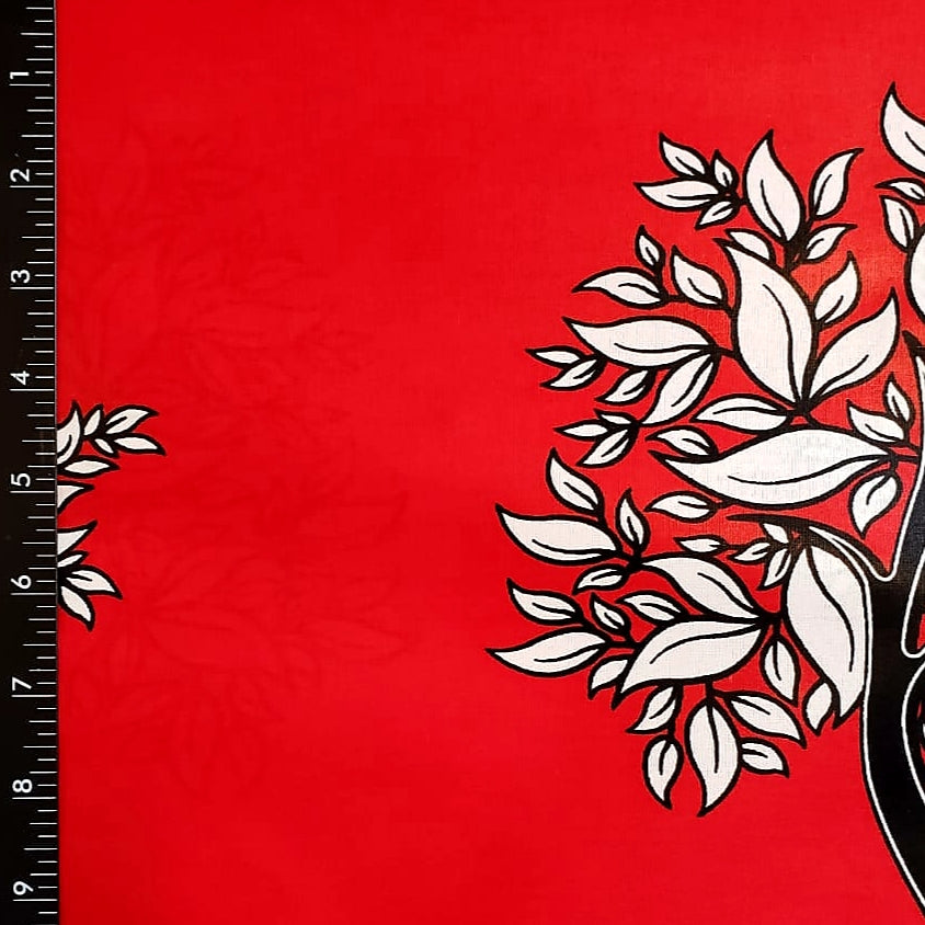 Tree of Life Wax Ankara Fabric