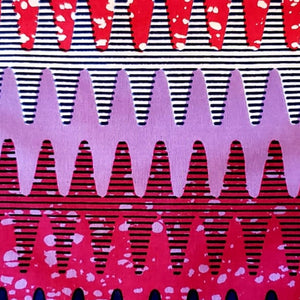 Shades of Pink Ankara Fabric