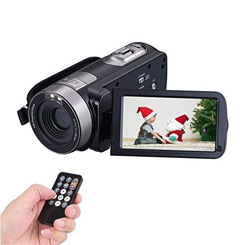 Camcorder Camera Full HD 1080p 24 0MP Video Camera Webcam 16x Digital Zoom  Digital Camera 3 Inch Screen HDMI Output With Remote Control