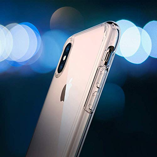 new arrival e8823 0b7c6 Spigen 065CS25127 Ultra Hybrid Designed for iPhone Xs MAX Case Cover (2018)  - Crystal Clear