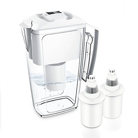278f78aed80 Alkaline Water Filter Jug with 2 Long Life Filter Cartriges