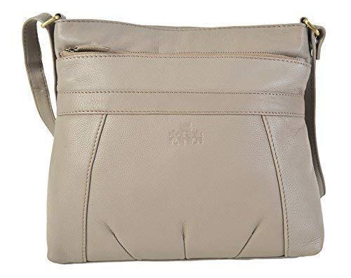96582d006526 ROWALLAN Medium Leather Shoulder Crossbody Top Zip Handbag 9543 RRP £64.99