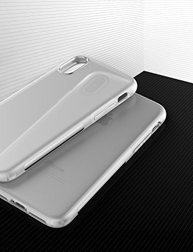 the best attitude 50b58 a59c6 Anker iPhone X Case, iPhone 10 Case, KARAPAX Touch Case Matte Finish  Flexible Soft TPU Cover Shell Skin [Support Wireless Charging] [Slim Fit]  for ...