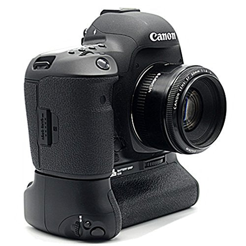 Pixel BG-E20 Battery Grip + Wireless Shutter Release Cable for Canon 5D  Mark IV (Replacement for Canon BG-E20)