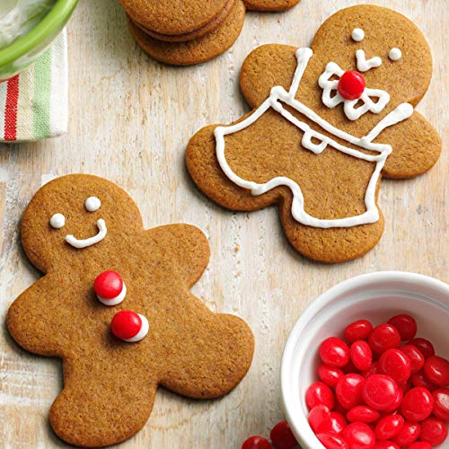 Keniao Christmas Cookie Cutter Set Winter Holiday Fondant Pastry Biscuit Cutters 5 Piece Snowflake Christmas Tree Gingerbread Man Santa Face