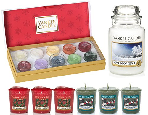 Official Yankee The Perfect Christmas Gift Set Includes Tea Light