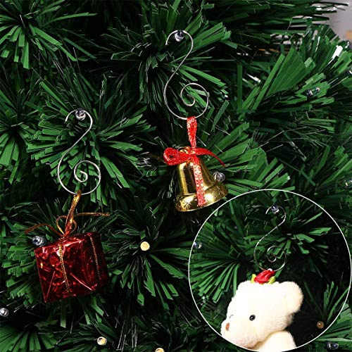 Homemaxs Ornament Hooks Christmas Ornament Hangers 2 Inch S Hooks