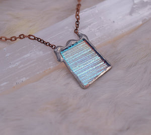 Cyan Window Pendant