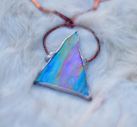 Dream Triangle Halo Pendant