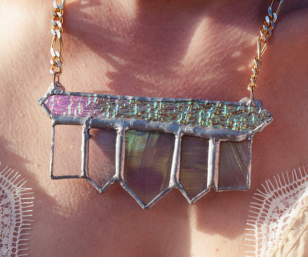 Iridescent Deco Power Piece