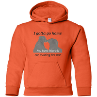 gotta go dog lovers dogs waiting youth kids hoodie