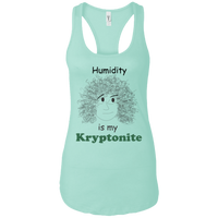 curly natural hair problems humidity kryptonite tee t-shirt