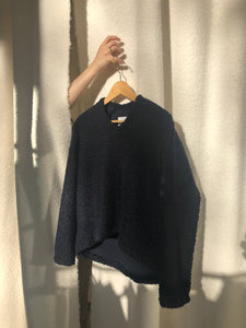Sacai Sweater Navy Blue