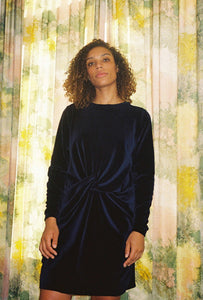 Dark Blue Dauro Dress